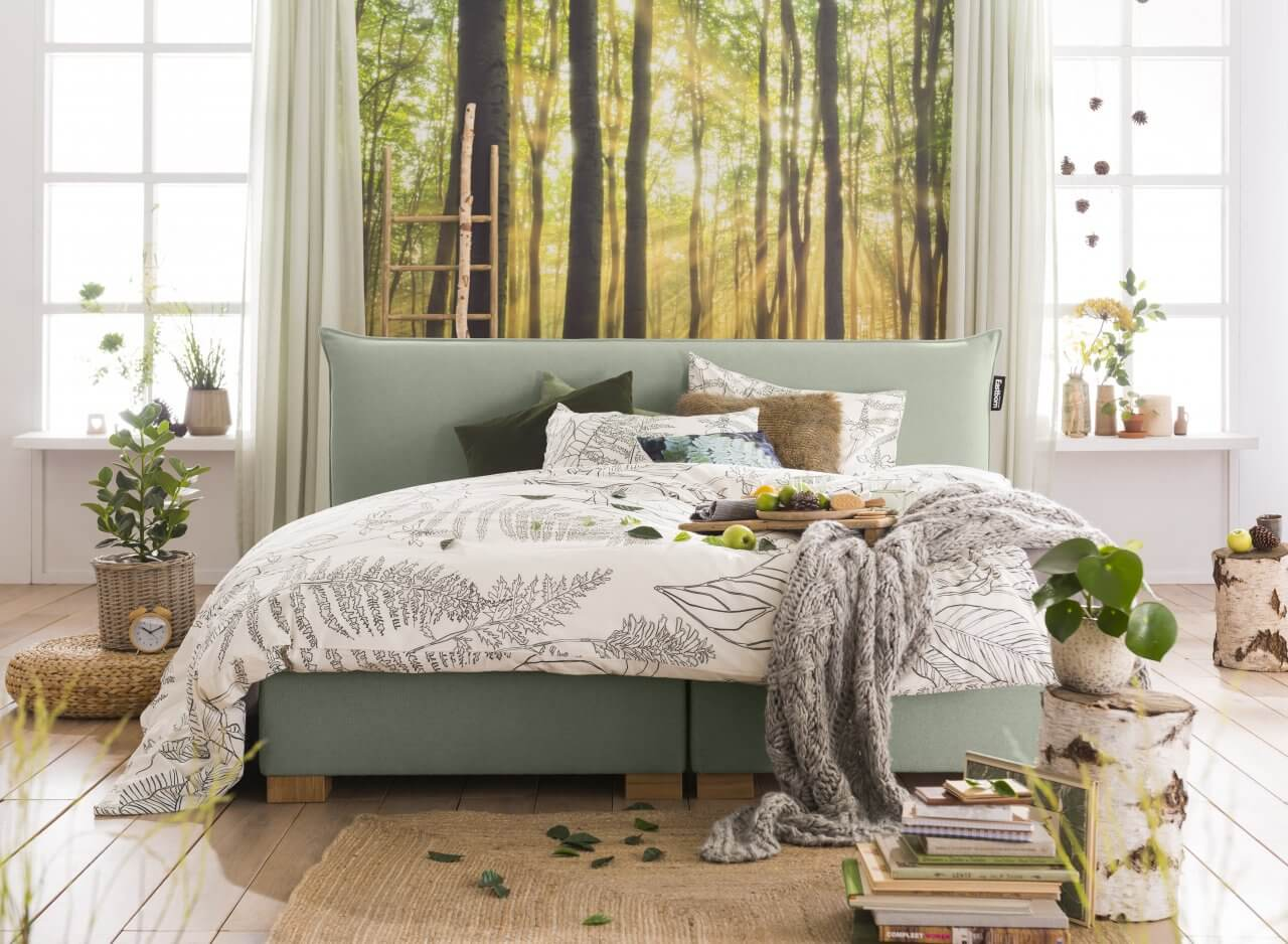 Boxspring Nature the Pillow